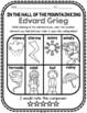 Edvard Grieg, Classical Composer Music Unit Study, June Birthday