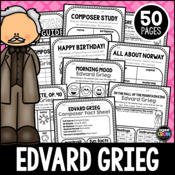 Edvard Grieg, Classical Composer, June, Summer, Handwriting, Music, Norway