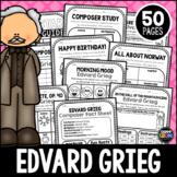 Edvard Grieg Composer Listening Activities, June