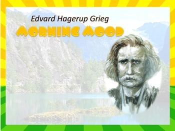 Edvard Hagerup Grieg Morning Mood Peer Gynt Suite No.1, Op.46