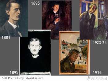 Edvard Munch Art Lesson with Project (Includes The Scream)