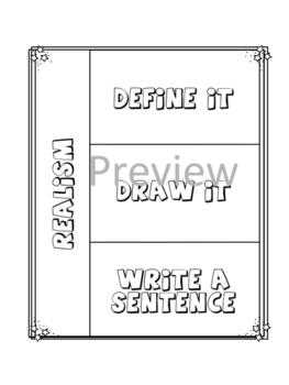 Edvard Munch Interactive Notebook Foldables