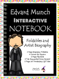 Edvard Munch - Famous Artist Biography Research Project - Interactive Notebook