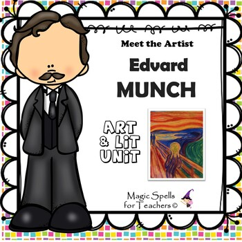 Edvard Munch - Meet the Artist - Artist of the Month - Includes The Scream