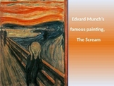 Edvard Munch PowerPoint and Art Project