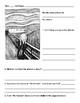 "Edvard Munch's ""The Scream"" Reflection sheet"