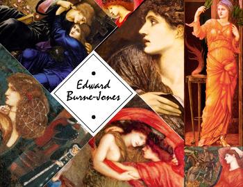 Edward Burne-Jones - Victorian Artist - Fairy Tales - Myths- Art - FREE POSTER