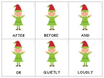 Edward Elf Says...Following Directions Skills for Classroom and Speech Therapy
