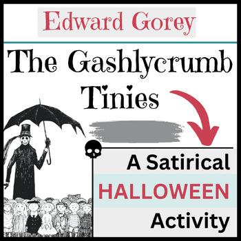 Edward Gorey's Gashlycrumb Tinies:  A FREE Halloween Primer on Victorian Satire