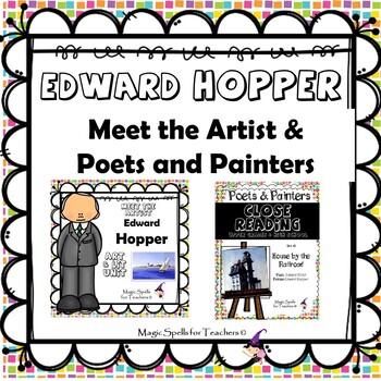 Edward Hopper - CC Close Reading, Poetry & Art Biography Lit Unit Bundled Set