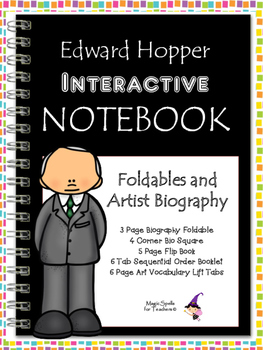 Edward Hopper - Famous Artist Biography Research Project - Interactive Notebook