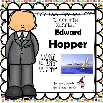 Edward Hopper - Meet the Artist - Artist of the Month - Lit Unit Printables