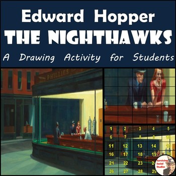 "Edward Hopper - ""The Nighthawks"" Painting Recreation"
