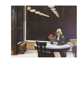 "Edward Hopper's ""Automat"" Creative Writing Assignment"