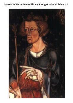 Edward I Word Search