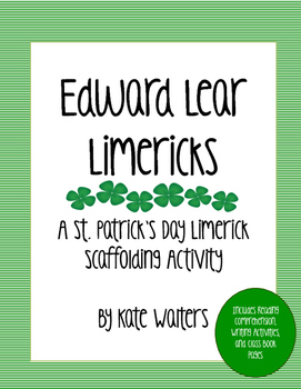 Edward Lear Limerick Writing Activity