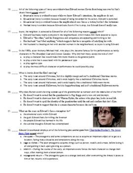Edward Scissorhands Film (1990) 15-Question Multiple Choice Quiz