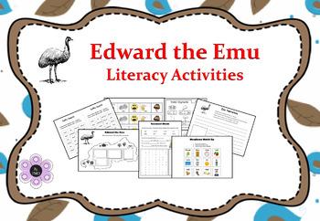 Edward The Emu - Literacy Activities