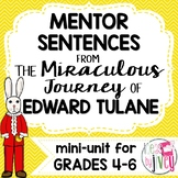 Edward Tulane Mentor Sentences & Interactive Activities Mi