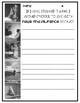 Edward Tulane Response Sheets