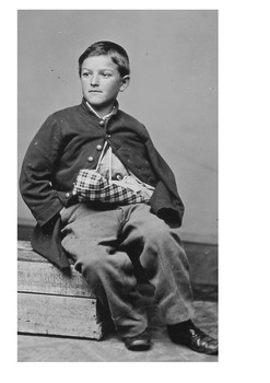 Edward (William) Black Youngest Soldier Injured in the US Civil War Word Search