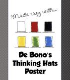 Edward de Bono's Six Thinking Hats Poster