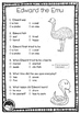 Edward the Emu ~ A week of reading activities ~ comprehension pack