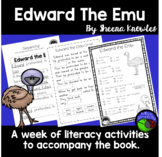 Edward the Emu ~ A week of reading activities ~ comprehens