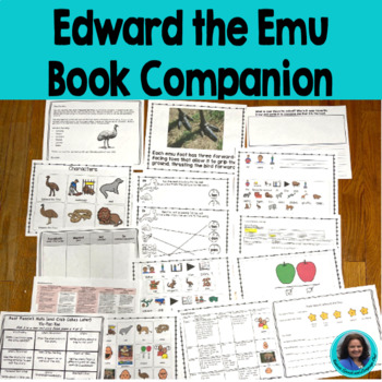 Edward the Emu: Common Core Standards, Tier Two Vocabulary
