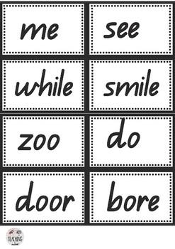 Edward the Emu Rhyming Word Flashcards