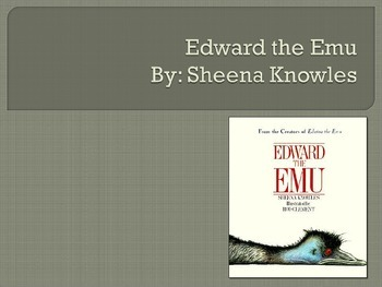 Edward the Emu, Knowles, Text Talk, Collaborative Conversations