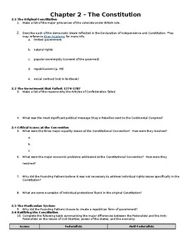 Edwards Government in America AP Edition Reading Guide (includes REDESIGN)