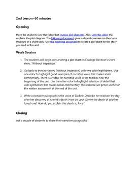 Edwidge Danticat's Without Inspection: Practice with Short Story