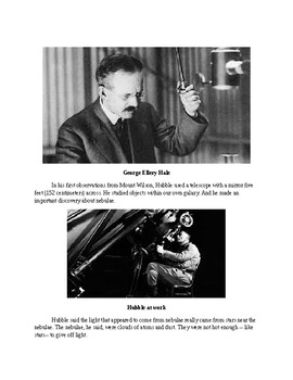 Edwin Hubble - A Short Biography for Kids