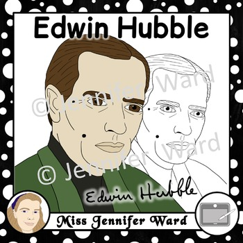 Edwin Hubble Clipart