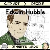 Edwin Hubble Clip Art