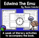 Edwina the Emu ~ A week of reading activities