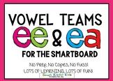 Ee/Ea Vowel Teams for Smartboard