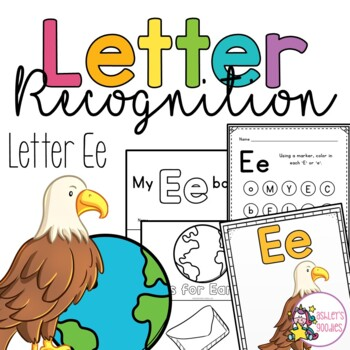 Ee Letter Recognition Worksheets
