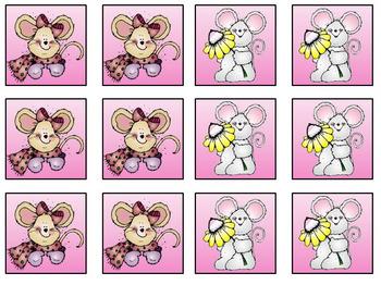 Eek! A Mouse!  Kindergarten Activities: Alphabet  *  CVC  *  Rhyming  *  Adding
