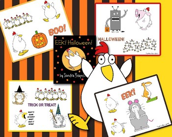 Eek! Halloween! by Sandra Boynton (Visual Aids)