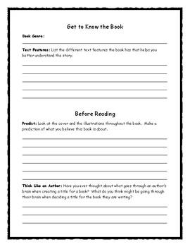 Eek! Stories to Make You Shriek! Novel Study