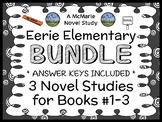 Eerie Elementary BUNDLE (Jack Chabert) 3 Novel Studies : Books #1-3  (88 pages)