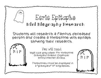Eerie Epitaphs