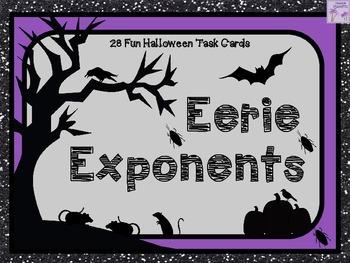 Halloween Eerie Exponents!
