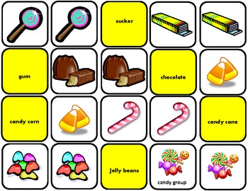 """""""Eetchy"""" EET Green Group Matching/Sorting Cards for Autism"""