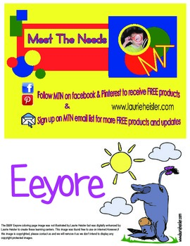 Eeyore File Folder Games Qty.2