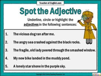 Effective Adjectives