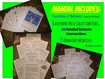 Effective Behavior Intervention Manual, PBIS & RtI Friendly (Tier 2)