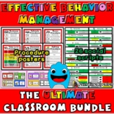 Effective Behavior Management Mega Bundle: Positive Classroom Discipline